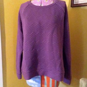 Eggplant Comfy Sweatshirt